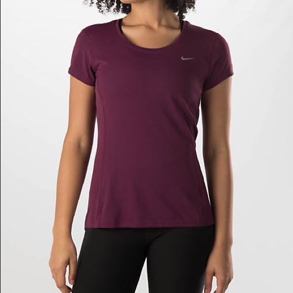 NWT Women s Nike Dri-FIT Contour Running Shirt f15893cde